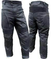 """NEW Cougar Vented CE Armoured ZIP/O LINER Motorcycle PANTS 46"""" W"""