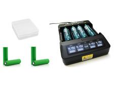 XTAR Ladegerät VP4, Premium Li-Ion LCD Charger inkl. 4x Sony US18650VTC6 Akkus