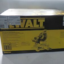 "NEW DEWALT DWS780 12"" DOUBLE BEVEL SLIDING COMPOUND MITER SAW NEW IN BOX SALE"