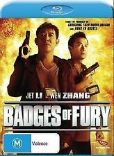 Badges Of Fury blu-ray dvd Brand New & Sealed Region ABC + special featurues!