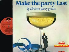 JAMES LAST Make The Party Last LP 25 Party Greats POLYDOR Holland 2371 612 Ex/NM