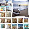 Bed Home Sofa Case Sea Pillow Cushion Car Cotton 18'' Linen Waist Creature Cover