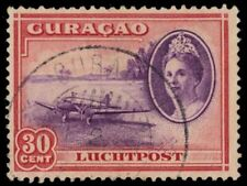 """NETHERLANDS ANTILLES C22 (Mi187) - Grounded Airplane """"Airmail"""" (pa84916)"""
