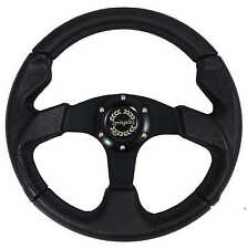 "Springalex Sports Steering Wheel 13"" + Black Stitching For Classic Mini S320BS"