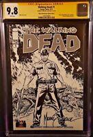 IMAGE Comics WALKING DEAD #1 CGC SS 9.8 Mike Zeck Variant Kirkman AMC Zombies