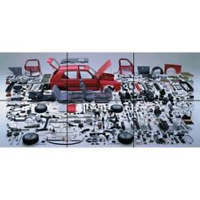 Golf VW Car Components Disassembled Parts Giant Picture Art Poster Print