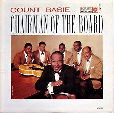 COUNT BASIE CHAIRMAN OF THE BOARD ORIGINAL 1959 LP ROULETTE R 52032 MONO