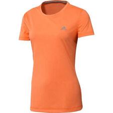 Abbigliamento sportivo da donna arancioni manica corti für fitness