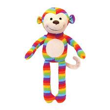 Rosewood Chubleez Sonny Monkey Dog Toy | Squeaky Plush Stuffed Medium Animal