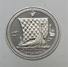"1987 Isle of Man 1/4 oz Platinum Proof Noble ""Statute of Liberty"" Privy Mark"