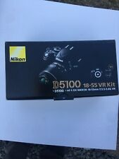NIKON D5100 AF-S DX 18-55 VR KIT BOX ONLY! EXCELLENT CONDITION. FREE SHIPPING!