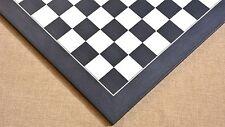 """Wooden Deluxe Black Anigre Maple Matte Finish Chess Board 24"""" - 60 mm B1007"""
