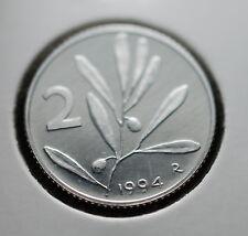 1994  Repubblica Italiana 2 lire  FONDO SPECCHIO  da divisionale