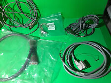 Allen Bradley Cable Lot 2711-Nc13 1746-C9 1747-C20 1761-Cbl-Am00 1792-Acabl025B