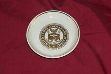 Vintage United States Coast Guard Academy Coin Key Change Old US Souvenir Dish
