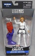 Marvel Legends Captain America Series Sharon Carter with BAF Piece - Red Skull