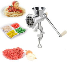 Heavy Duty Manual Sausage Maker Meat Mincer & Grinder Hand Operated Kitchen Tool