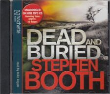 Stephen Booth Dead And Buried MP3 CD Audio Book Unabridged FASTPOST