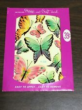 Meyercord Decals Butterfly Decorative Transfers Vintage 1 Sheet X528