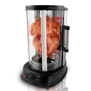 Nutri-Chef PKRTVG34 Vertical Rotisserie Oven - Rotating Kebob Cooker