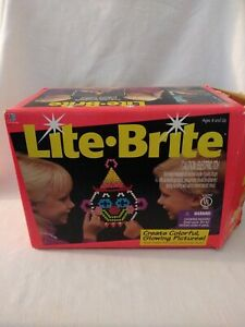 Milton Bradley Lite Brite 1994. Multiple guides new and used. Including Disney.