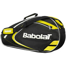 YELLOW BABOLAT CLUBLINE 3 RACKET TENNIS CLUB BAG IDEAL FOR TRAVEL PADEL TENNIS
