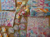 50 Small Assorted Unicorn Party Bag Fillers/Lucky Dip Prizes / Pocket Money Toys
