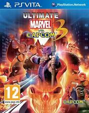 Ultimate Marvel vs Capcom 3   Rare   PS PlayStation Vita Game   Great Condition