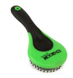 Shires Mane & Tail Brush - Lime Green - Horse Grooming - 1366