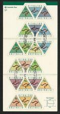 1996 Australia - ATM Postpak Sheetlet 20 x 45c triangular stamps CTO FDI