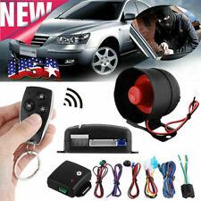 1Set Car Vehicle Burglar Protection System Alarm Security+2 Remote Control Us!