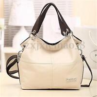 2017 Women Leather Handbag Shoulder Cross Body Bag Tote Messenger Satchel Purse