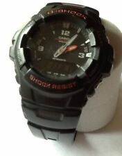 USED: CASIO  - Casio 2327 G-Shock G-100. Antimagnetic Chronograph Watch
