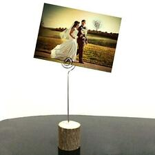 Wedding Photo Wooden Seat Clip Table Card Photo Picture Name Clip  Photo Clip