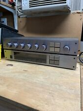 Carver C-2 2 Channel Pre-Amplifier and Carver TX-2 AM/FM Stereo Tuner