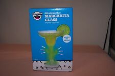 Margarita Plastic Glass Party Thirsty Cactus Lights Up 12 oz. Bigmouth NEW n Box
