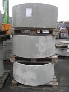Betonringe Schachtringe DN 100 mit Nut und Feder ohne Steigeisen, Brunnenringe