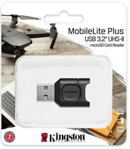 Kingston USH-II MicroSDXC Card Reader MobileLite Plus USB3.2 MicroSD Card Reader