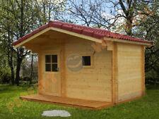 Gartensauna Modell 3432 Sauna mit 70 mm Wandstärke