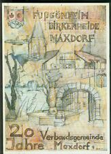 20 Jahre Verbandsgemeinde Maxdorf Fußgönheim Birkenheide 1992 Fotos Information