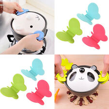 1Pc Mini Butterfly Shaped Silicone Anti-scald Devices Kitchen Tool Gadget Random