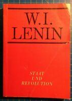 W.I.Lenin Staat und Revolution Dietz Verlag Berlin 1967 DDR H8813