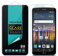 TechFilm Tempered Glass Screen Protector Saver Shield For LG Stylo 3 / Stylus 3