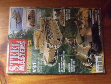 $$y Revue Steel Masters N°41 M109 A6  Sdkfz 9/1  Bataan 1942  Totem en Italie