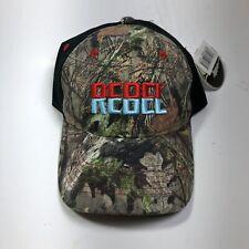 Rebel Fishing Lure Mossy Oak Camo Hat AdjustableBack Trucker Cap Baseball NewL3