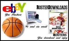 NCAA College Basketball 10 360 Real Rosters Memory Card