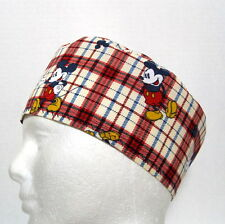 Mickey Mouse Mens Scrub Hat, Skull Cap, Chemo Hat, Surgical Cap