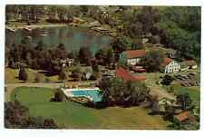 Basin Harbor Club Lake Champlain Vergennes Vermont USA Vintage 1960's Postcard
