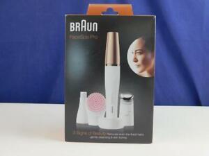 Braun FaceSpa Pro SE912 Gesichtsepilierer Gesichtsreinigung Massage Hautplege