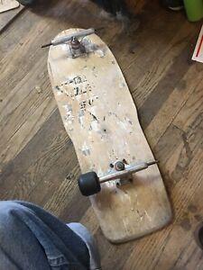 vintage Skull Skates Steve Olson Skateboard Deck